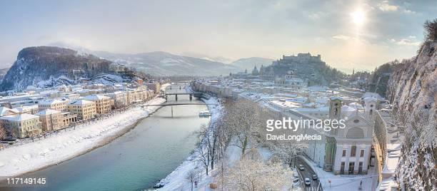 Winter-Morgen in Europa