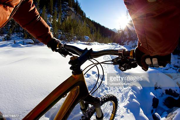 Winter ciclismo de montaña