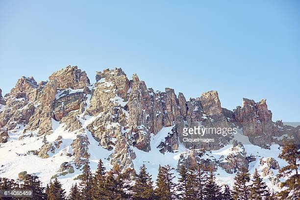 winter mountain landscape - cliqueimages stock pictures, royalty-free photos & images