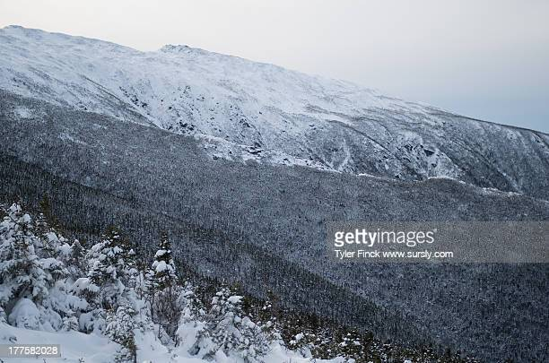 winter mountain ridge - sursly stock pictures, royalty-free photos & images