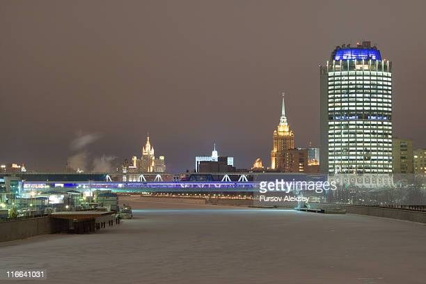 Winter night at Moscow