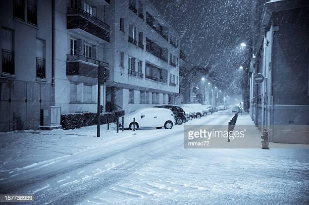 Winter Night on the Street