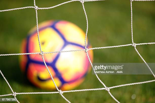 Winter Nike Ordem Premier League match ball at a West Bromwich Albion Training Session on October 25 2016 in West Bromwich England