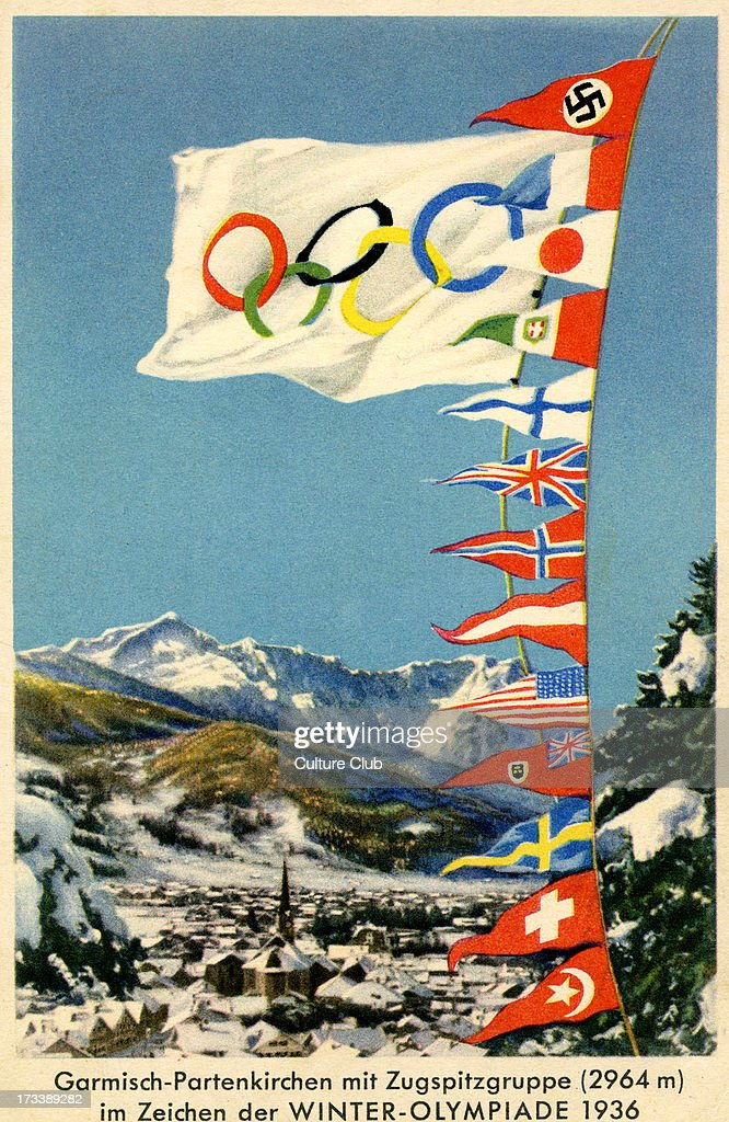 Winter Olympics 1936 Germany Pictures Getty Images