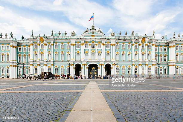 Winter Palace of the Hermitage Museum, Saint Petersburg, Russia