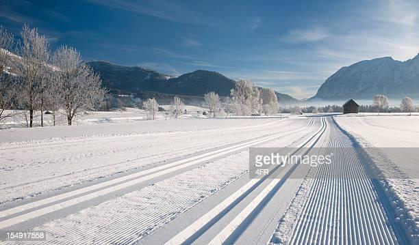 Winter Panorama Cross-Country Ski-Titel (XXXL