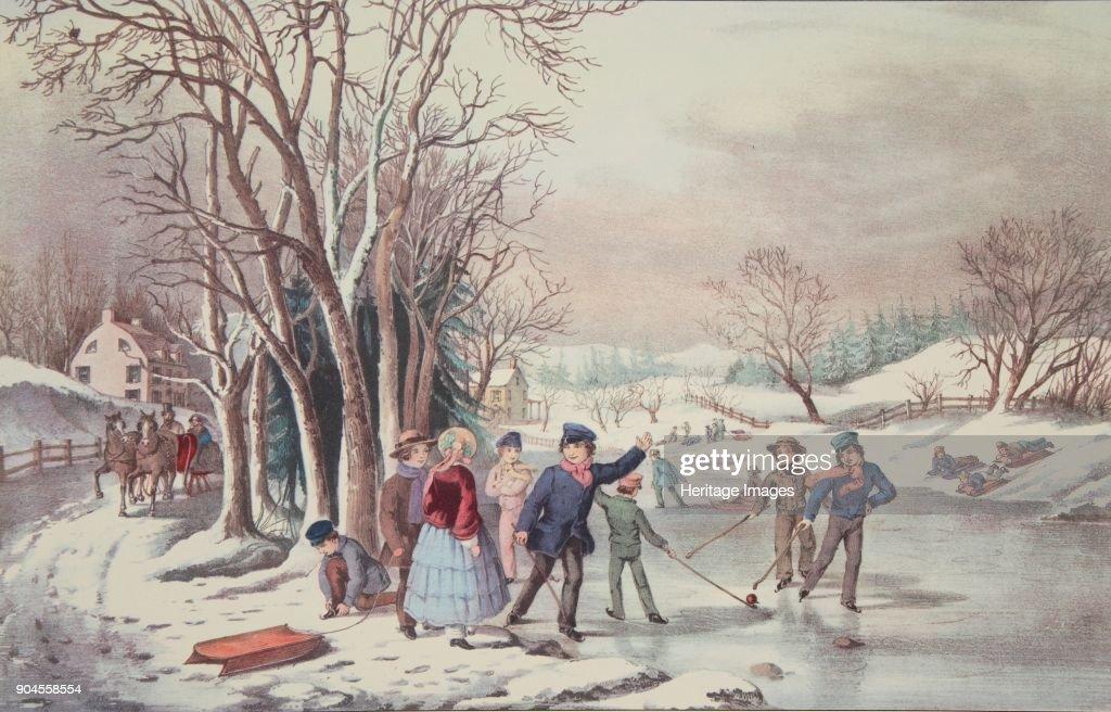 Winter Pastime : News Photo