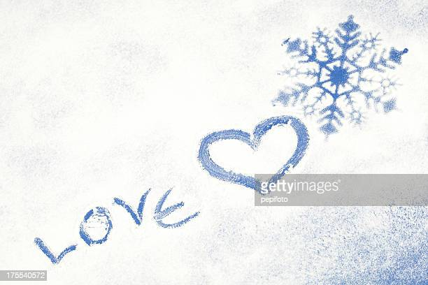 winter - heart month stock photos and pictures