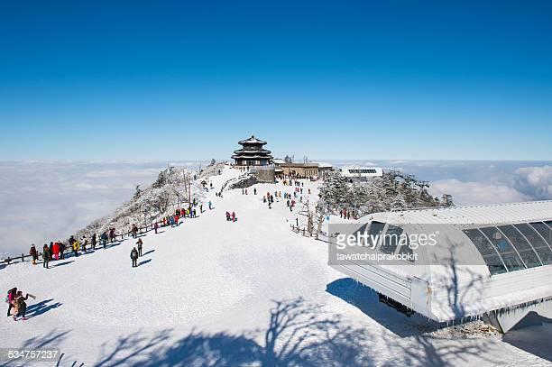Lanscape in winter,Korea