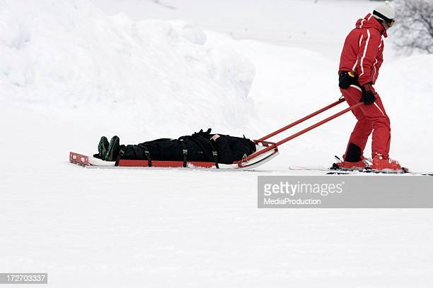 winter rescue - crash stock pictures, royalty-free photos & images