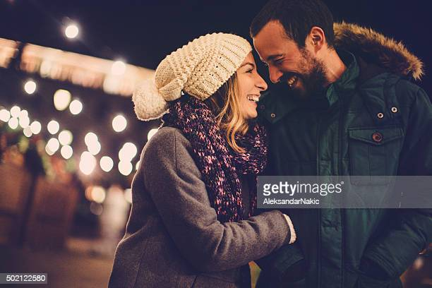 winter romance - valentine's day holiday stock pictures, royalty-free photos & images