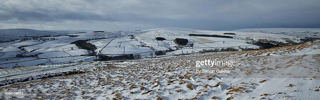 Winter Scene in Northern England : Stock Photo