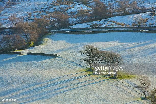 Winter Scene in Northern England
