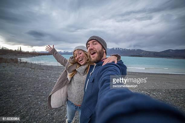 Winter selfie in New Zealand