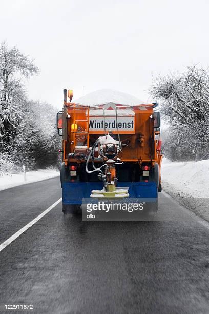 Winter-service-Schnee Pflug truck