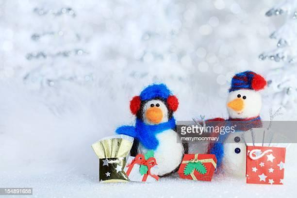 Winter shopping-Freunde