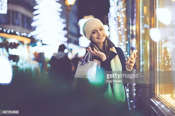 Winter shopping season