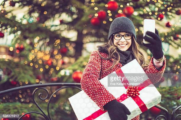 Winter shopping Saison