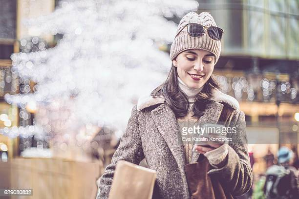 Winter shopping season