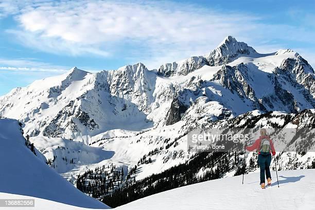 winter skiing adventure