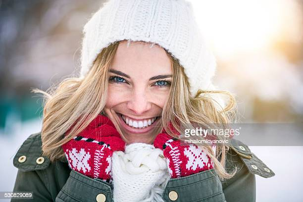 Winter smile