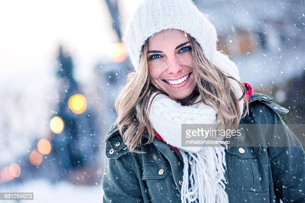 Winter Lächeln
