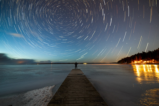 Winter stargazing in Tampere - gettyimageskorea