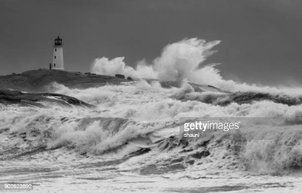 winter storm grayson - gale stock photos and pictures