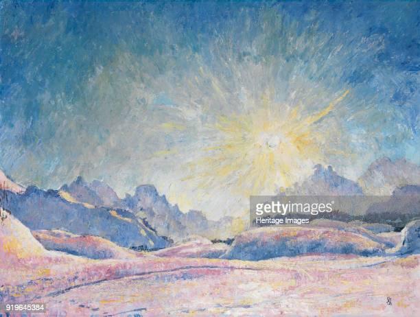 Winter Sun in Maloja 1926 Found in the Collection of Stiftung für Kunst Kultur und Geschichte Winterthur