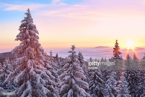 De invierno Sunrise