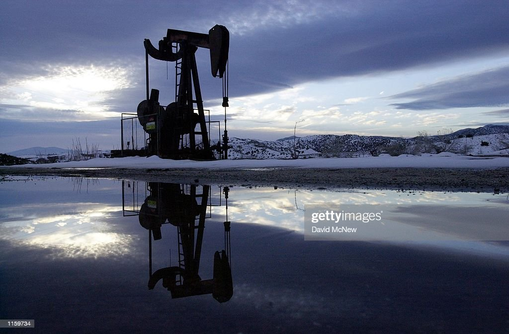 Oil Well In California : News Photo