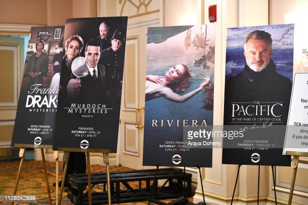 Winter TCA Tour with Julia Stiles Lena Olin Yannick Bisson Lauren Lee Smith and More at Langham Hotel on February 08 2019 in Pasadena California