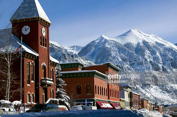 Winter Telluride Colorado
