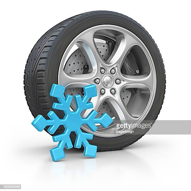 De invierno tire