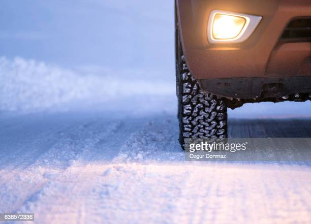 Winter tires in extreme cold temperature