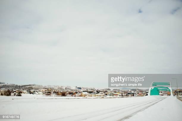 A winter trip to Biei Hokkaido