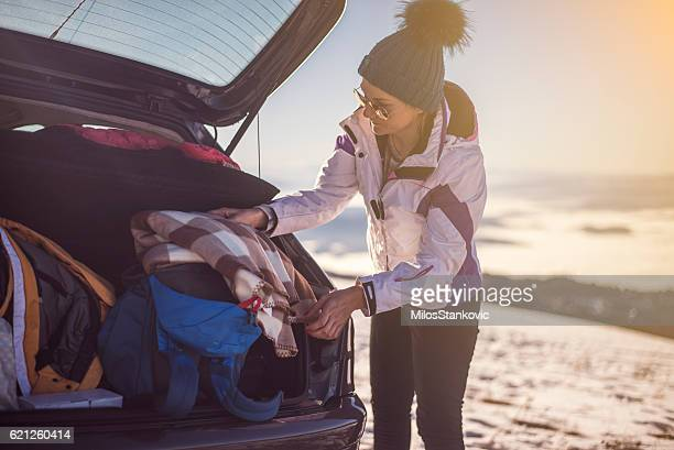 winter vacation - ski holiday stock photos and pictures