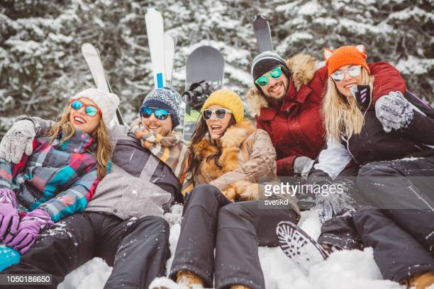 Vacances d'hiver entre amis