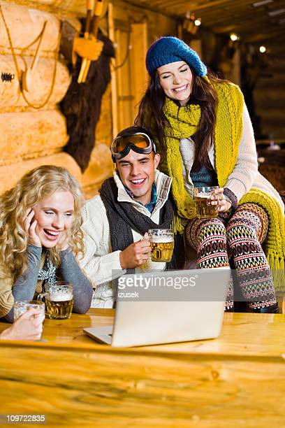 winter vacations - izusek stock pictures, royalty-free photos & images