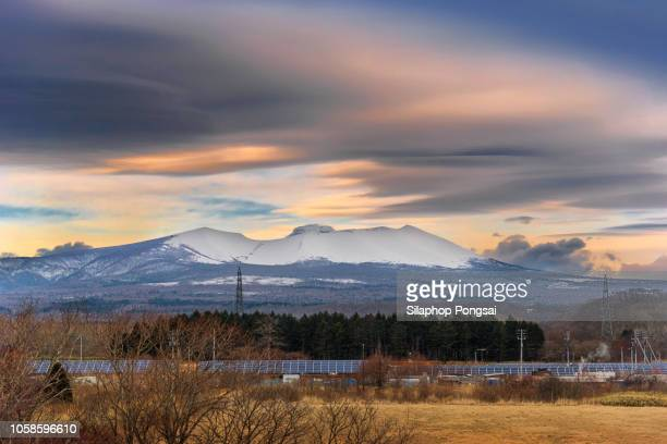 winter view of hokkaido - 四月 ストックフォトと画像