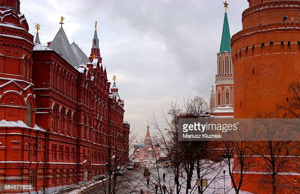 Winter view of Kremlin and Red Square