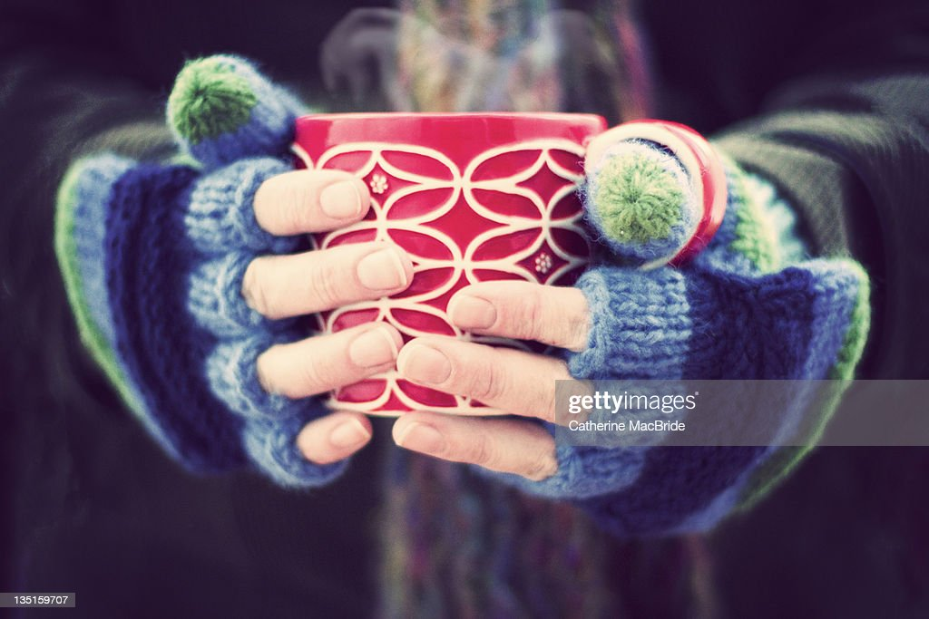 Winter warmer : Stock Photo