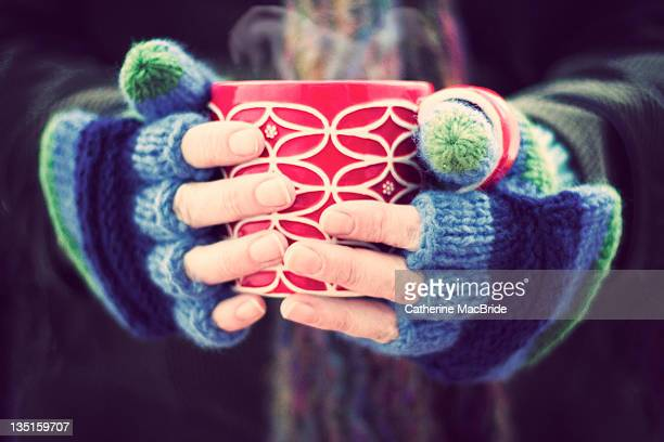 winter warmer - mitten stock pictures, royalty-free photos & images
