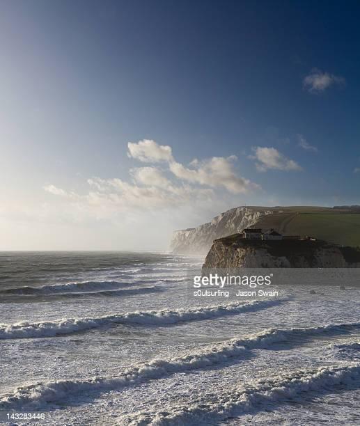 winter waves - s0ulsurfing stockfoto's en -beelden