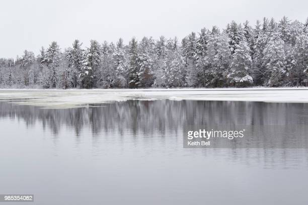 winter wisconsin river - reid,_wisconsin stock pictures, royalty-free photos & images