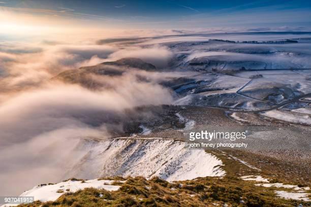 Winter Wonderland in the English Peak District. UK.