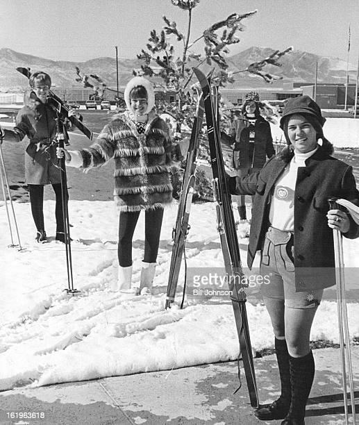 NOV 1 1966 NOV 4 1966 NOV 11 1966 NOV 16 1966 Winter Wonderland' Show for PTA The snow was natural backdrop for these models Nancy Cooper 5265...