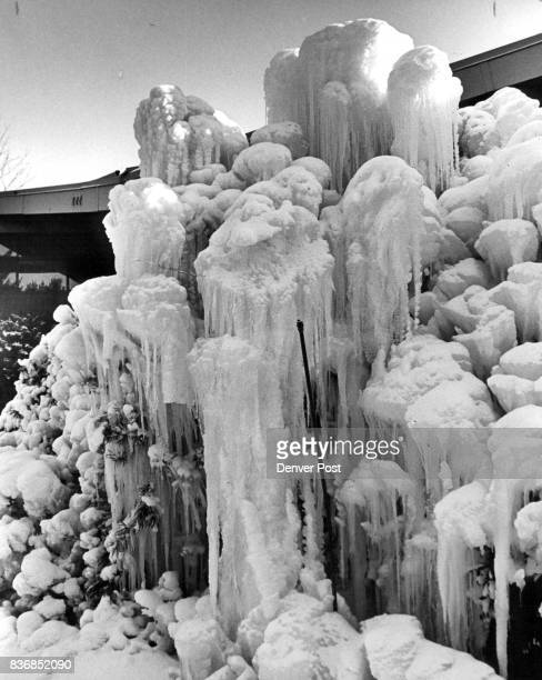 Winter Wonderland This isn't an encroaching Arctic glacier it's the front of Mary Richardson's house at 222 Leetsdale Drive in Denver Mrs Richardson...