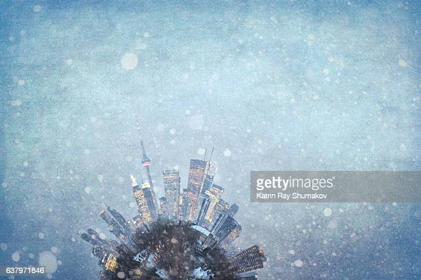 Winter Wonderland Toronto Planetoid