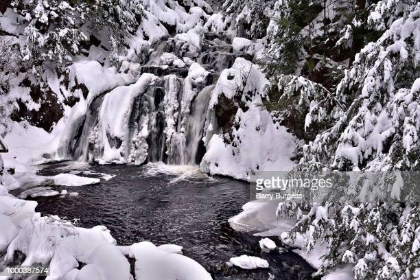 Winter Woodland Waterfall